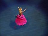 Фрагмент из м.ф. балерина в розовых пуантах. Танец Кристины.